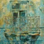 Birola balcony Macedonia acrylic
